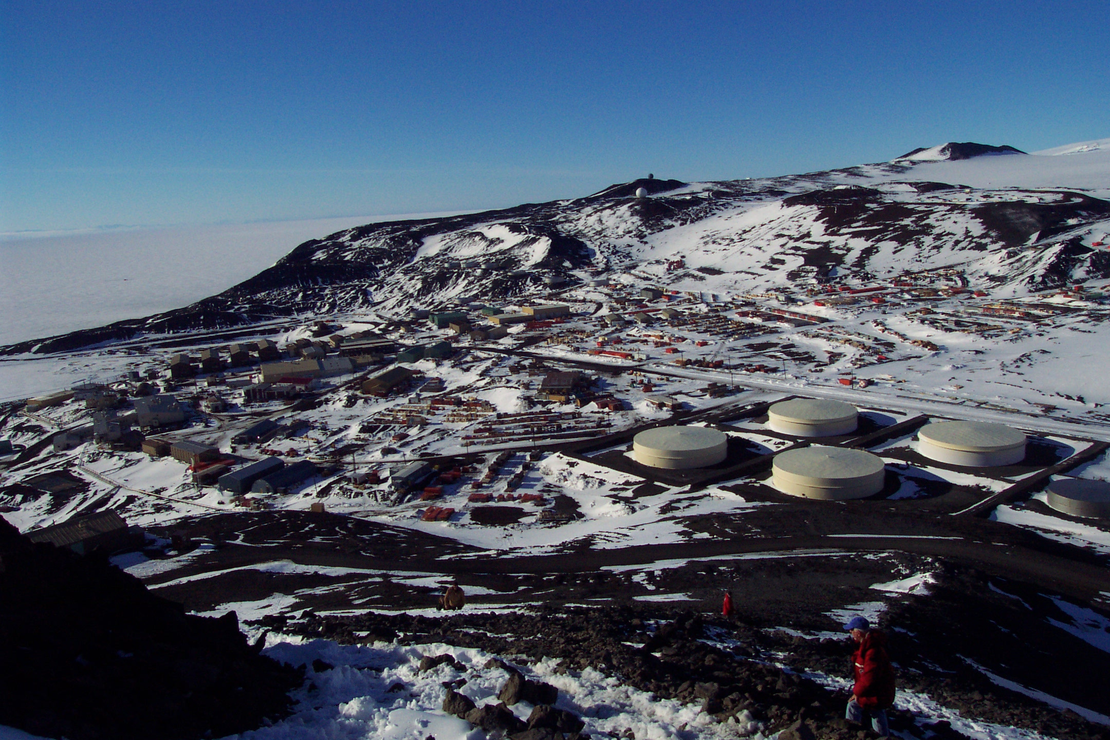 Tour To Mcmurdo Station