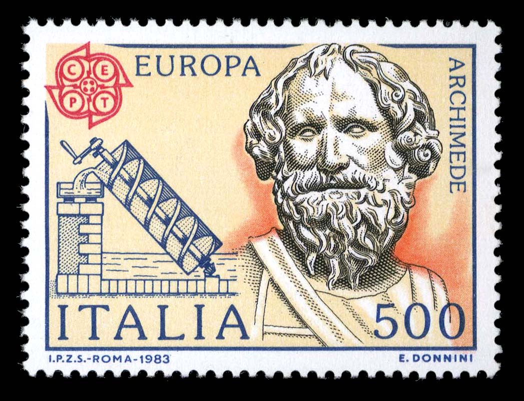 stamps of archimedes